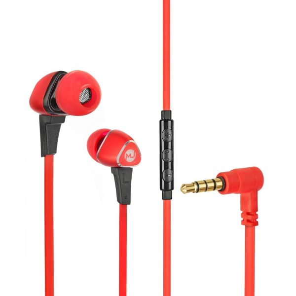 Wave 100 Wired Earphone Red